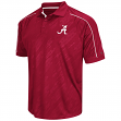 "Alabama Crimson Tide NCAA Men's ""Sleet"" Short Sleeve Polo Shirt"