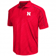 "Nebraska Cornhuskers NCAA Men's ""Sleet"" Short Sleeve Polo Shirt"