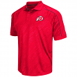 "Utah Utes NCAA Men's ""Sleet"" Short Sleeve Polo Shirt"
