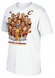 "Cleveland Cavaliers 2016 NBA Champions Adidas Parade ""Caricature"" Men's T-Shirt"