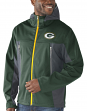 "Green Bay Packers NFL G-III ""Repetition"" Full Zip Hooded Premium Men's Jacket"