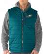 "Philadelphia Eagles G-III NFL ""Double Track"" Systems 3-in-1 Premium Vest Jacket"