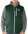 "New York Jets G-III NFL ""Double Track"" Systems 3-in-1 Premium Vest Jacket"