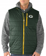 "Green Bay Packers G-III NFL ""Double Track"" Systems 3-in-1 Premium Vest Jacket"