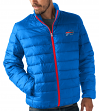 "Buffalo Bills Men's NFL ""Skybox"" Full Zip Packable Quilted Jacket with Bag"