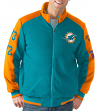 "Miami Dolphins NFL ""Classic"" Men's Super Bowl Commemorative Varsity Jacket"