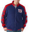 "New York Giants NFL ""Classic"" Men's Super Bowl Commemorative Varsity Jacket"