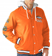 "Denver Broncos NFL ""Glory"" Super Bowl Commemorative Varsity Hooded Jacket"