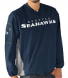 "Seattle Seahawks NFL G-III ""Gridiron"" Men's Pullover Embroidered Jacket"
