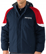 "New England Patriots G-III NFL ""End Zone"" Systems 3-in-1 Detachable Vest Jacket"