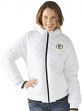 "Green Bay Packers Women's NFL G-III ""Drop Back"" Full Zip Hooded Quilted Jacket"