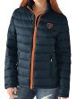"Chicago Bears Women's NFL ""Catch"" Full Zip Packable Quilted Jacket with Bag"