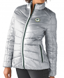 "Green Bay Packers Women's NFL G-III ""Rise Up"" Full Zip Quilted Jacket"