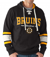 "Boston Bruins G-III NHL ""Icing"" Men's Lace Up Pullover Hooded Sweatshirt"