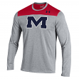"Mississippi Ole Miss Rebels Under Armour ""Defensive Stop"" Performance L/S Shirt"