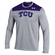 "TCU Horned Frogs Under Armour NCAA ""Defensive Stop"" Men's Performance L/S Shirt"