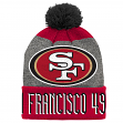 "San Francisco 49ers Youth NFL ""Ultimate"" Cuffed Knit Hat w/ Pom"