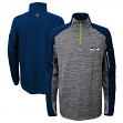 "Seattle Seahawks Youth NFL ""Paramount"" 1/4 Zip Pullover Sweatshirt"