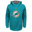 "Miami Dolphins Youth NFL ""Pinnacle"" Pullover Hooded Sweatshirt"
