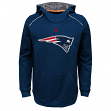 "New England Patriots Youth NFL ""Pinnacle"" Pullover Hooded Sweatshirt"