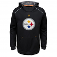 "Pittsburgh Steelers Youth NFL ""Pinnacle"" Pullover Hooded Sweatshirt"