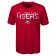 "San Francisco 49ers Youth NFL ""Helix"" Performance Short Sleeve T-Shirt"