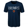"Chicago Bears Youth NFL ""Helix"" Performance Short Sleeve T-Shirt"
