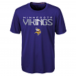 "Minnesota Vikings Youth NFL ""Helix"" Performance Short Sleeve T-Shirt"
