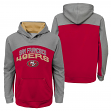 "San Francisco 49ers Youth NFL ""Arc"" Pullover Hooded Sweatshirt"