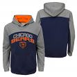 "Chicago Bears Youth NFL ""Arc"" Pullover Hooded Sweatshirt"