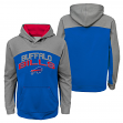 "Buffalo Bills Youth NFL ""Arc"" Pullover Hooded Sweatshirt"