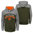"Cleveland Browns Youth NFL ""Arc"" Pullover Hooded Sweatshirt"