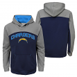"San Diego Chargers Youth NFL ""Arc"" Pullover Hooded Sweatshirt"