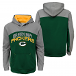 """Green Bay Packers Youth NFL """"Arc"""" Pullover Hooded Sweatshirt"""