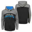 """Carolina Panthers Youth NFL """"Arc"""" Pullover Hooded Sweatshirt"""