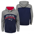 "New England Patriots Youth NFL ""Arc"" Pullover Hooded Sweatshirt"