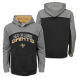 "New Orleans Saints Youth NFL ""Arc"" Pullover Hooded Sweatshirt"
