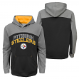 "Pittsburgh Steelers Youth NFL ""Arc"" Pullover Hooded Sweatshirt"