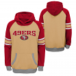 "San Francisco 49ers Youth NFL ""Robust"" Pullover Hooded Sweatshirt"
