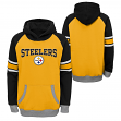 "Pittsburgh Steelers Youth NFL ""Robust"" Pullover Hooded Sweatshirt"