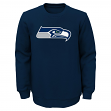 "Seattle Seahawks Youth NFL ""Prime"" Pullover Crew Sweatshirt"