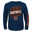 "Chicago Bears Youth NFL ""Frequency"" Long Sleeve T-Shirt"