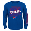 "Buffalo Bills Youth NFL ""Frequency"" Long Sleeve T-Shirt"
