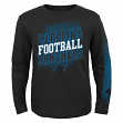 "Carolina Panthers Youth NFL ""Frequency"" Long Sleeve T-Shirt"