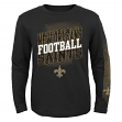 """New Orleans Saints Youth NFL """"Frequency"""" Long Sleeve T-Shirt"""