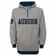 "Auburn Tigers NCAA ""Fashion"" Men's 1/4 Zip Hooded Sweatshirt"