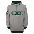 "Michigan State Spartans NCAA ""Fashion"" Men's 1/4 Zip Hooded Sweatshirt"