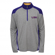 "LSU Tigers NCAA ""Helix"" Men's 1/4 Zip Pullover Jacket"