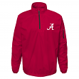 "Alabama Crimson Tide NCAA ""Apex"" Men's 1/4 Zip Pullover Performance Jacket"