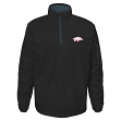 "Arkansas Razorbacks NCAA ""Apex"" Men's 1/4 Zip Pullover Performance Jacket"